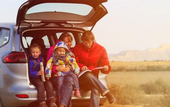 viajando en familia