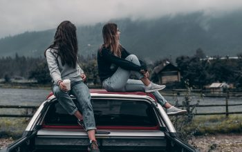 Un viaje por carretera con amigos